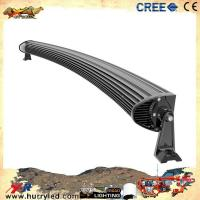 Quality 288w 50inch curved cree led light bar with 3D lens for offroad wholesale