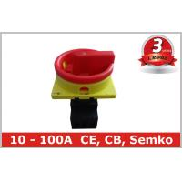 Quality Commercial Lighting Rotary Isolator Switch with Front Mounting , Lockable wholesale