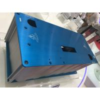 Cheap CNC Deep Processing Aluminium Enclosures with Blue Anodize Color for sale