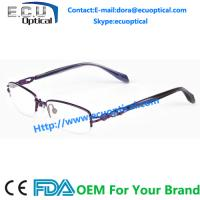 Quality Charming unique sweetheart target optical frames titanium glasses wholesale