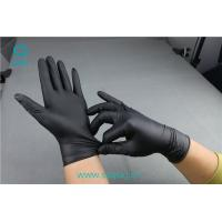 Black nitrile gloves that can be bought on the Internet with a good quality of a nitrile material