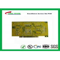 Quality Gold Finger PCB for Computer 4 Layer PCB Thickness 1.6mm Immersion Gold UL , ROHS , ISO wholesale
