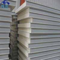 Quality waterproof 75mm grey white polyurethane foam sandwich panel for clean room wholesale