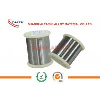 Quality 0Cr21Al4 Bright Resistance Heating Strip / Nickel Chrome Wire For Resistor wholesale