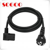Quality Kema Keur Eu Power Cable Assembly 250v 16a AC Cable For Computer Curling Iron Kettle wholesale