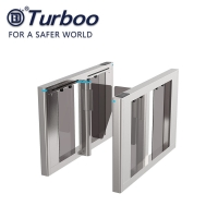 Quality 10MM Acrylic Office Security Gates Brushless Motor Automatic Intelligent Systems wholesale