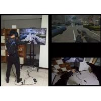 Quality High Immersion Virtual Reality Systems Ultra Realistic For Entertainment / Military wholesale