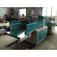 Quality 9Kw Auto Polythene T Shirt Bag Making Machine / Equipment With Two Sealing knifes wholesale