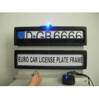 Quality invisible/stealth remote car license plate frame wholesale