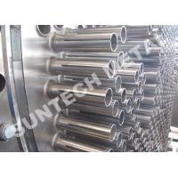 China 316L Austenitic Stainless Steel Climbing And Falling Film Evaporator For Nitrobenzene on sale
