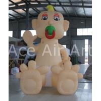 Quality 2.5m H Outdoor Giant Inflatable Baby Pacifier/ Inflatable Nipple For Child Care Products Promotion wholesale