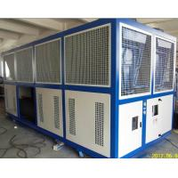 Quality Low Noise Semi-Hermetic Screws Compressor Air Cooled Glycol Chiller RO-130AL With -15c Outlet Temperature wholesale