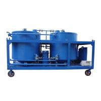 China Black Motor Oil Purification Machine on sale