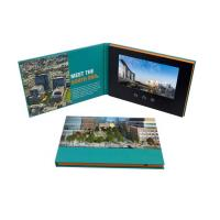 Quality Advertising Promotion Video Brochure Card 7 Inch Lcd Video Book Four Color Printing wholesale