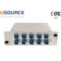 Quality Low Loss 8ch 16ch 100Ghz DWDM Mux Demux LGX And ABS Box Package Module wholesale