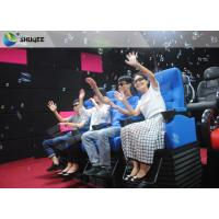 Quality Huge Screen 4D Cinema System Movement Chair Fog Effects 100 Seats wholesale