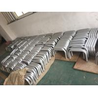 Machining Silver Anodized AA20um Aluminium Round Tube with Holes for sale