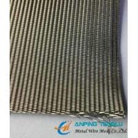 Quality SS304 SS316 Dutch Weave Wire Mesh, 24mesh×110mesh 0.36mm×0.25mm Wire Diameter wholesale