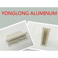 Quality Wooden Grain Aluminum Window Profiles Strong Three Dimensional Effect wholesale