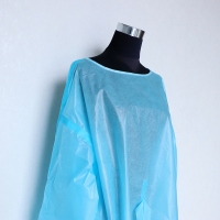 China V Collar Knitted Cuff 15gsm Disposable Isolation Gowns on sale