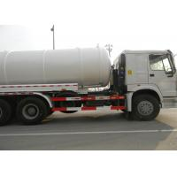 Quality Sewer Cleaning Equipment Sewage Suction Truck 16CBM LHD 6X4 Euro2 290HP , wholesale