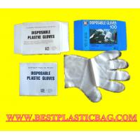 Quality Fits either hands food using transparent disposable pe gloves wholesale