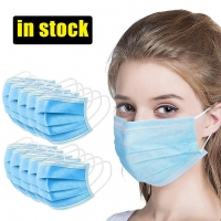 Quality Adjustable Anti Spitting Disposable 3 Layer Individual Mask wholesale
