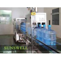 Stainless Steel 5 Gallon Water Filling , Precision Pure Drinking Water Machine