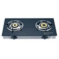 China Wm-7202a Double Burner Auto Glasstop Gas Stove on sale