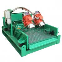 Quality Oil Rig Mud System Linear Motion Shale Shaker , 60m3/h Solids Control Equipment wholesale