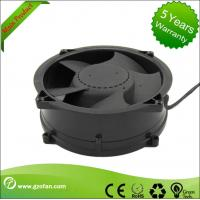 Quality Brushless 48V DC Axial Fan / Bathroom DC Exhaust Fan High Efficiency wholesale