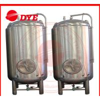 Cheap 1000L Stainless Steel Storage Water Tank , Steam Jacketed Tank Round Legs for sale