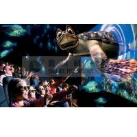Quality Realistic 6D Cinema Simulator With Cinema Special Effects And Curved Screen wholesale
