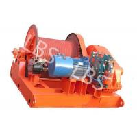Quality 10 Ton Electric Winch Machine With Lebus Groove Drum / Electric Crane Winch wholesale