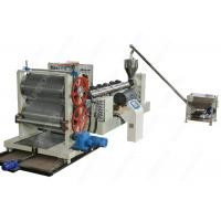 China Waterproof Drainage Board Production Machine Line With Dimpled Plastic Sheet on sale