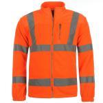 Quality Hi Vis Fleece Reflective Safety Jacket wholesale