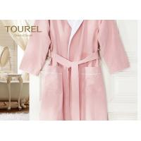 China Cotton Waffle Terry Home Hotel Quality Bathrobes Velour Childrens Towelling Bathrobe on sale