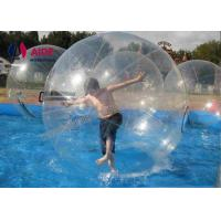 Quality Clear Tpu Water Walking Ball / Adult Zorb Ball Inflatable Human Hamster Plastic wholesale