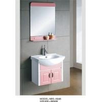 Quality wall mount cabinet / PVC bathroom vanity / hung cabinet / white color for bathroom 60 X49/cm wholesale
