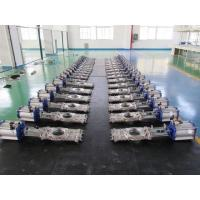 Quality CL150/PN16 CF8M STAINLESS STEEL SS304/SS316/A216 WCB WAFER OR FULLY LUGGED THROUGH CONDUIT KNIFE GATE VALVE wholesale