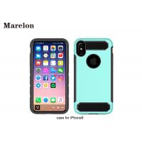 Cheap Shockproof Soft Iphone 6 6s Plus Phone Case Ultra Thin Anti - Slip Two Sides for sale