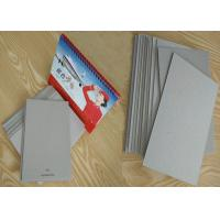 Quality 787 * 1092mm 889 * 1194mm Grey Chip Board Uncoated For Packaging / Calendar wholesale