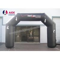 Cheap Durable Wide Inflatable Race Arch Car Logo Inflatable Run Through Tunnels for sale