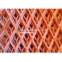 Quality Highway Guardrail Expanding Mesh Sheets , Sports Venues Expanded Wire Mesh Fence wholesale