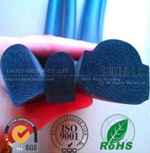 Quality building industry flat EPDM sponge damping strip wholesale