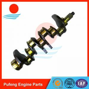 Isuzu diesel engine parts, CNC machined 4BB1 crankshaft 8-94443-662-0 for UH-035/UH-037