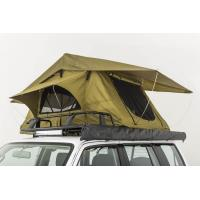 Quality Double Layer Vehicle Top Tent , Truck Parts Jeep Wrangler Roof Rack Tent wholesale