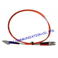 Quality LC To LC Fiber Optic Patch Cord , Multimode Fiber Optic Jumper 2.0mm RoHS Compliant wholesale