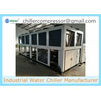 Quality 100 TR Air Cooled Screw Water Chiller for Plastic extruding Line wholesale