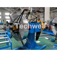 Quality Manual / Hydraulic Double Head Decoiling Machine With 0-15m / Min Uncoiling Speed wholesale